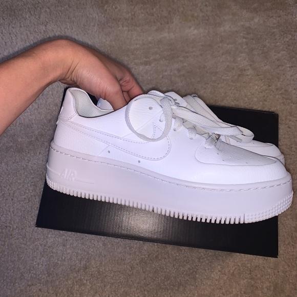 Nike Shoes Air Force 1 Sage Low White Poshmark